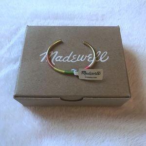 Madewell Neon Cuff Bracelet